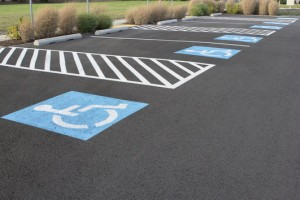 A well striped and maintained parking area gives customers the impression that, you take a great deal of pride in ownership.