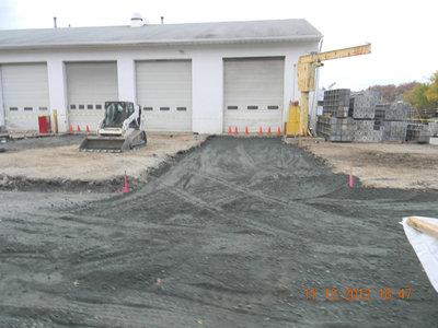 Aggregate Base Subgrade Parking Lots