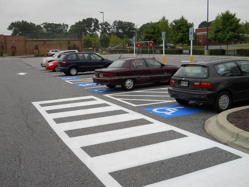 Parking Lot Striping Baltimore