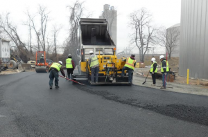 asphalt parking lot installation in maryland